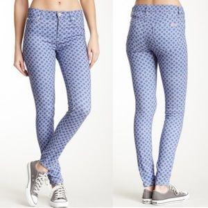 Hudson Nico Super Skinny Midrise Geoh Jeans